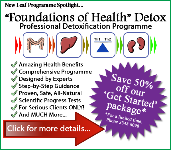 New Leaf Spotlight On... Foundations of Health Detox - The Professional Detox Programme.